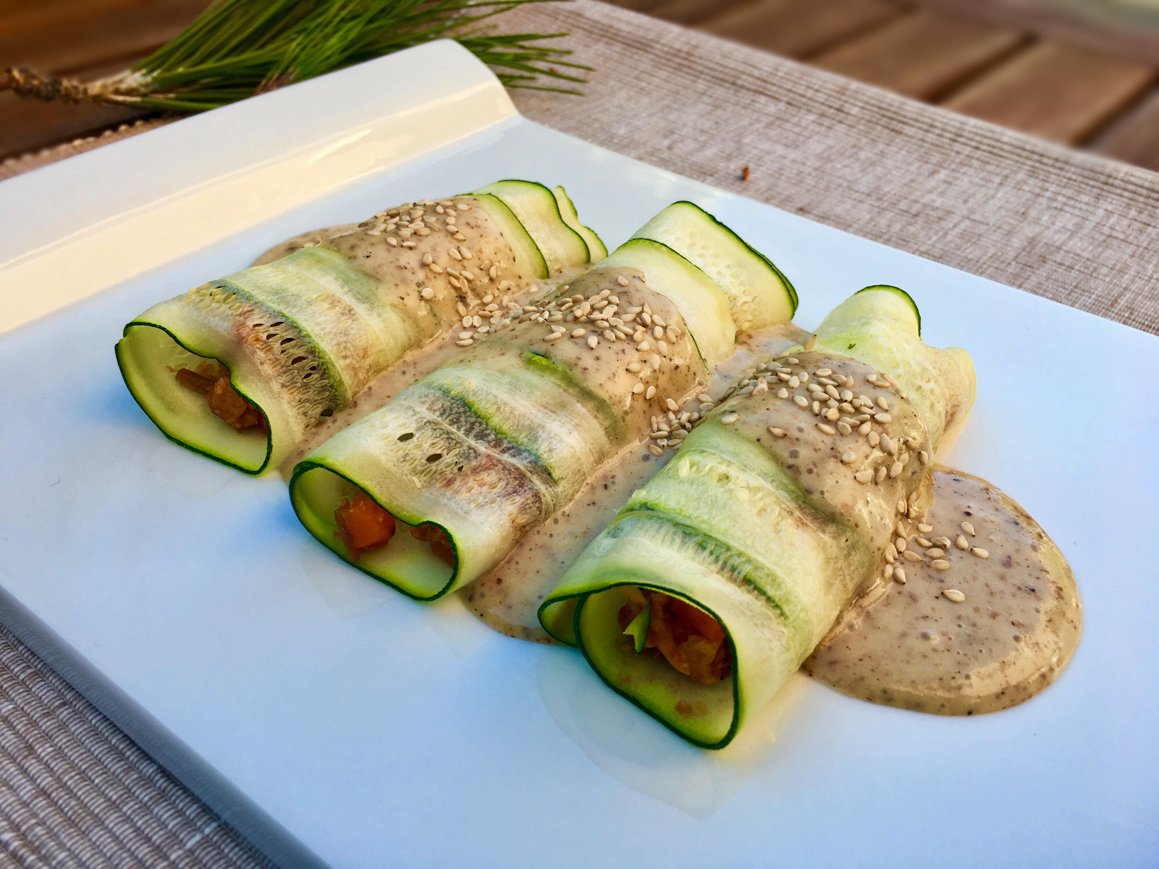 canelones de soja texturizada