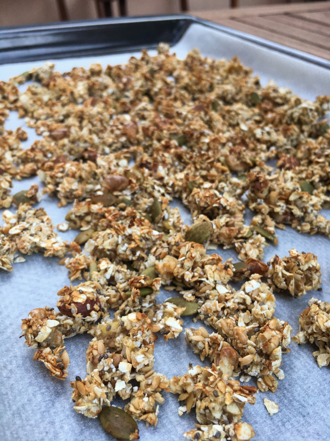 granola casera horno
