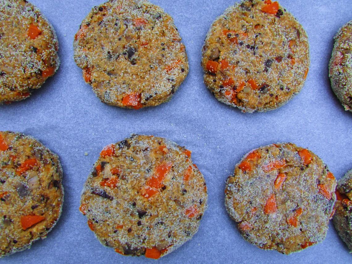 hamburguesas veganas de quinoa