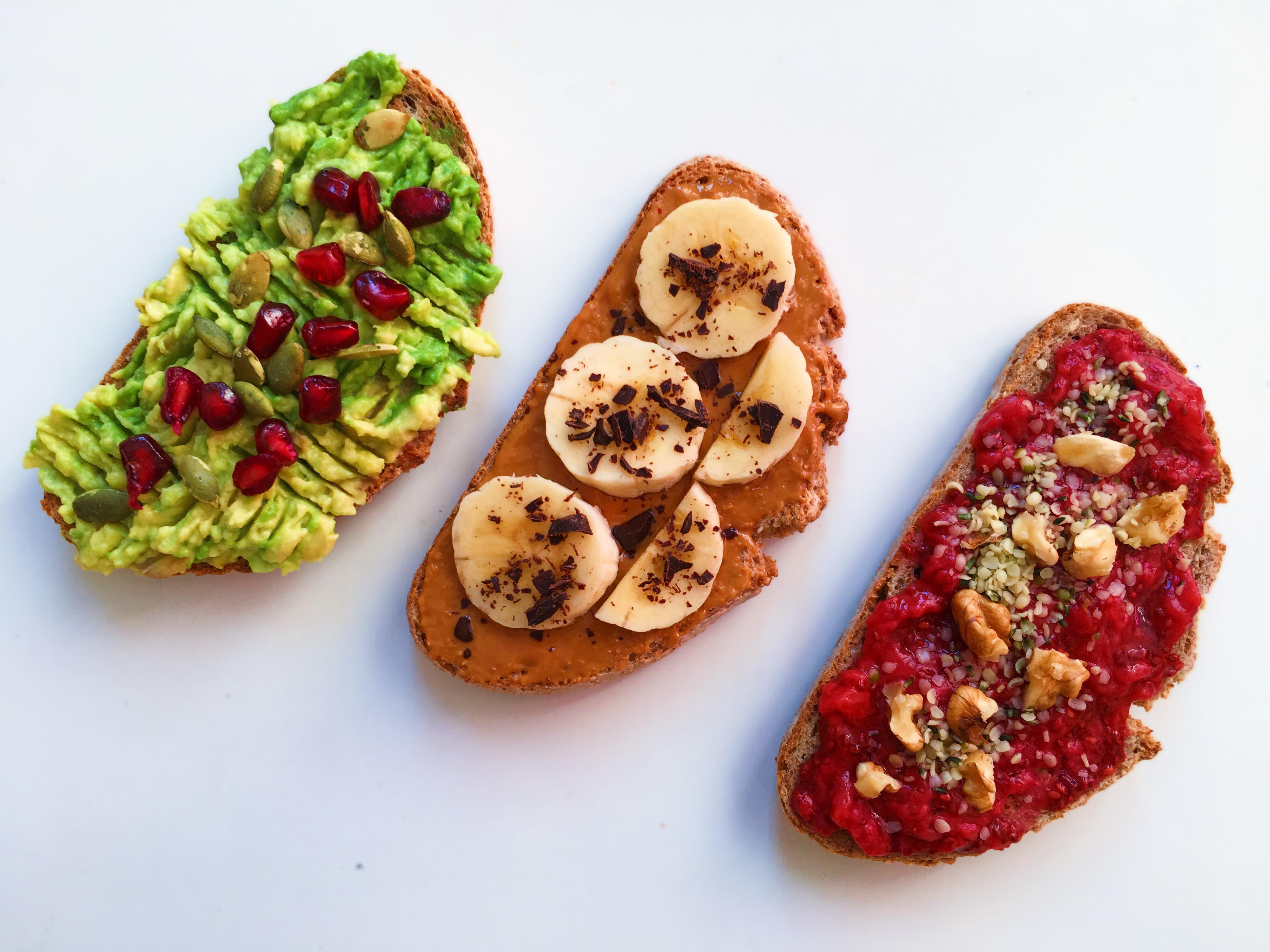 tostadas saludables