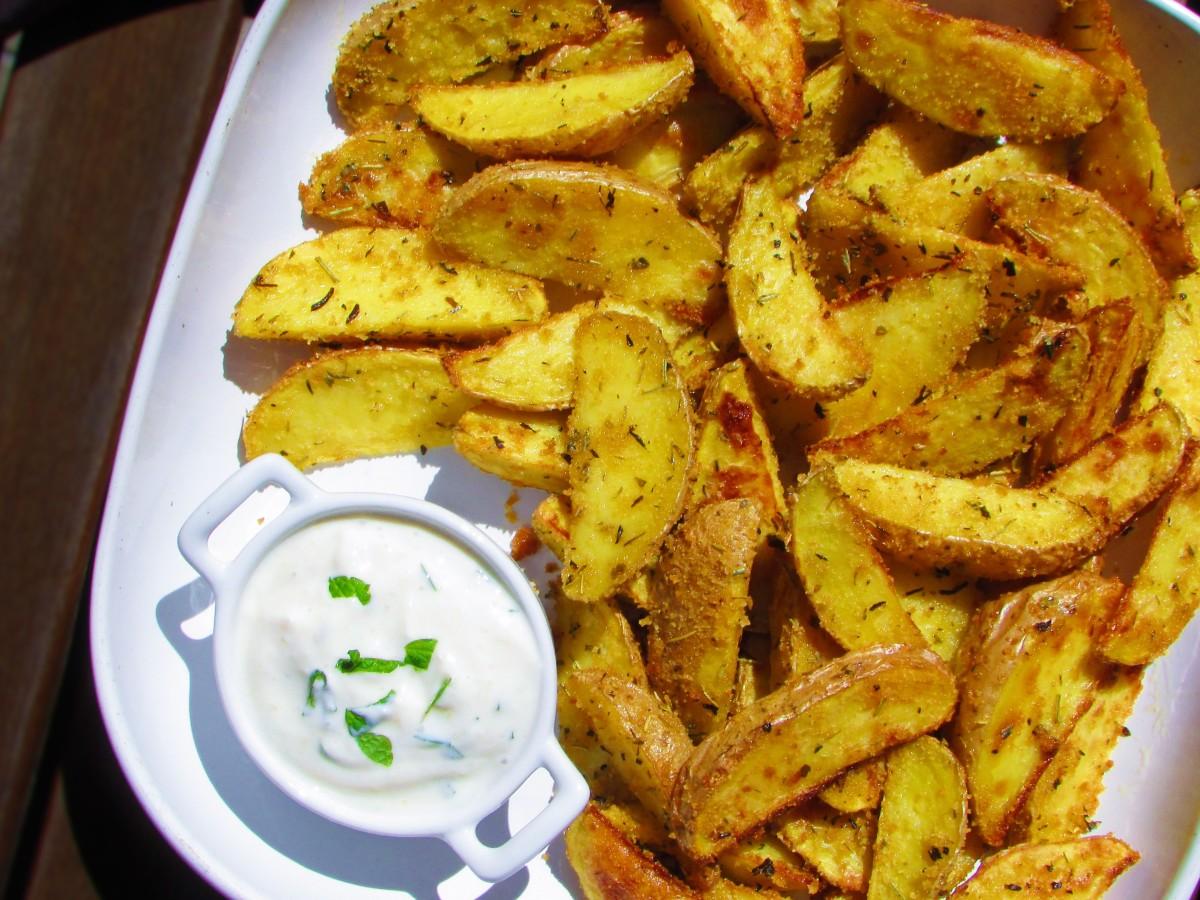 Patatas gajo al horno (tipo Deluxe)