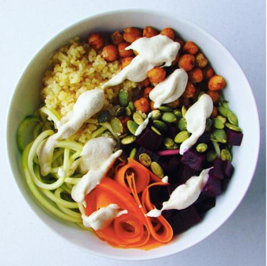 buddah bowl vegano 2