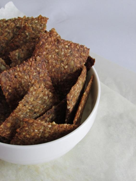 cracker de semillas