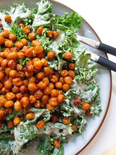 ensalada kale