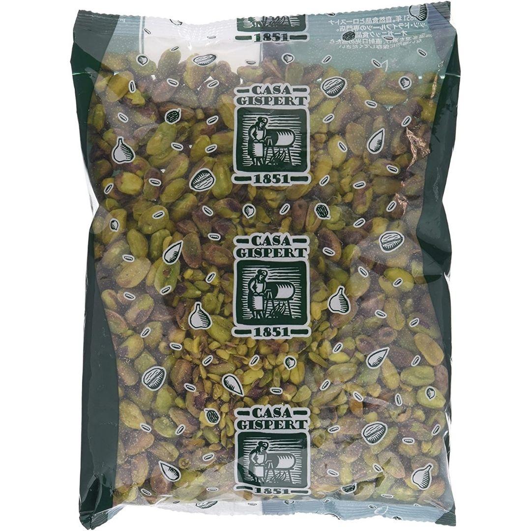 pistachos crudos pelados